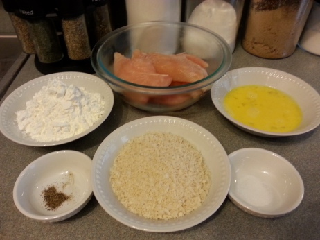 Orange Chicken Ingredients 1